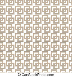 Geometric rectangle gold line abstract seamless pattern....