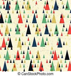 Geometric retro seamless pattern. Vector