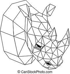 Geometric rhinoceros