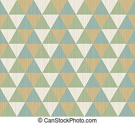 Geometric seamless background with triangles