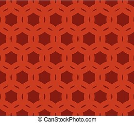 Geometric Seamless Brown Background
