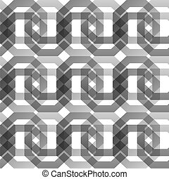 geometric seamless pattern of octagons, vector background