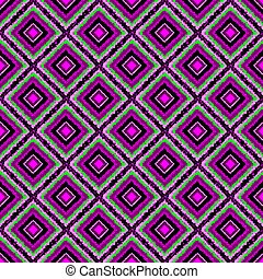Geometric seamless neon pattern