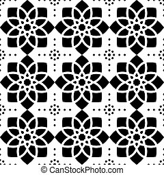 Geometric seamless pattern, abstract ornament style, tiled...