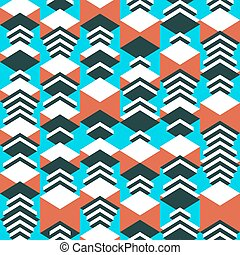 Geometric seamless pattern. Abstract vector background