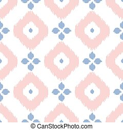 Geometric seamless pattern in pantone color of the year...