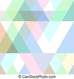 Geometric seamless pattern in pastel colors