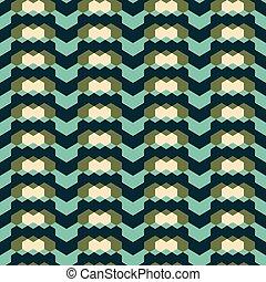 geometric seamless pattern in retro colors