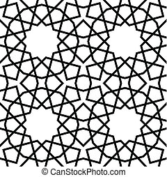 Geometric Seamless Pattern - Seamless geometric pattern,...