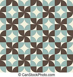 Geometric seamless pattern, vector background.