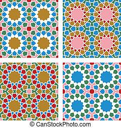 Geometric Seamless Pattern - Seamless geometric pattern,...