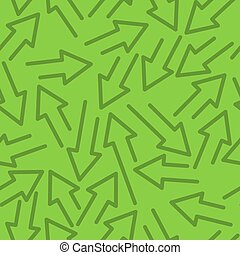 Geometric seamless pattern with arrows in different directions