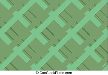 Geometric seamless pattern with intersecting lines, grids,...