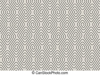 Geometric seamless pattern with spirals.