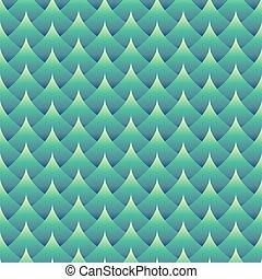 Geometric seamless wavy pattern