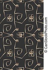 Geometric stylish ornament