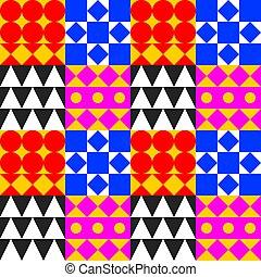 Geometric tile background
