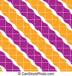 Geometric tiles seamless pattern, vector background.