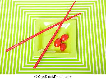 Geometric Tomatoes