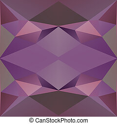 Geometric triangle hipster retro background