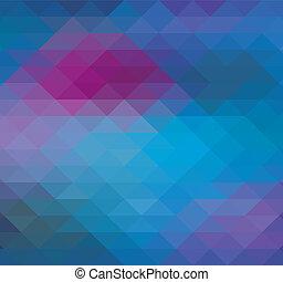 Geometric Triangle Neon background, pattern, vector, spectrum