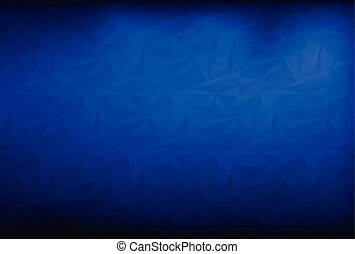 geometric triangle pattern background blue white
