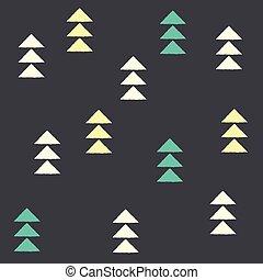 Geometric triangles, seamless pattern