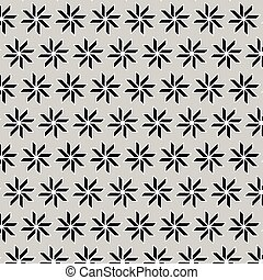 Geometric vector pattern with gray background