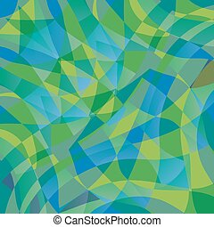 Geometric Wave Pattern