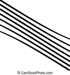 Geometric waving, wavy parallel lines. Ripple, twisted lines...