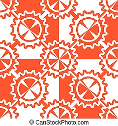geometric wheels pattern