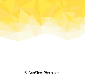 Geometric yellow and White Abstract Vector Background for Use in Design.