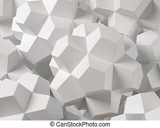 Geometrical abstract 3d background