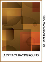 Geometrical abstract background. Eps10