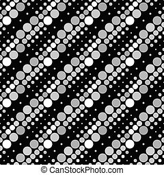 Geometrical abstract seamless dot pattern background design