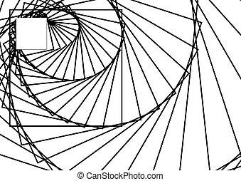 Geometrical Background. Pattern Wit