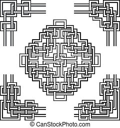 geometrical corners