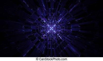 Advance Gleaming Laser Ray Vast 4k uhd 3d rendering vj loop
