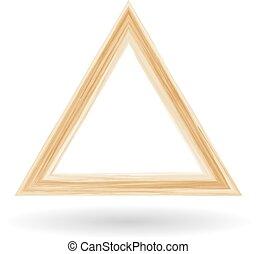Geometrical figure of a triangle
