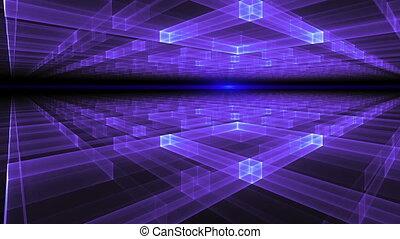 Geometrical Horizon With Rays Of Li