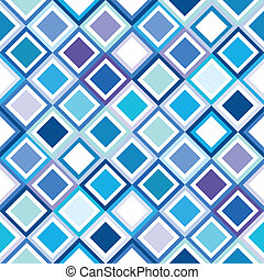 Geometrical pattern in blue tones