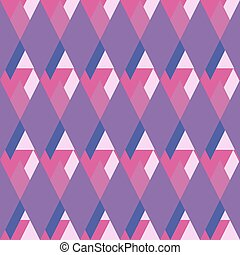 Geometrical rhombus pattern.