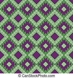 Geometrical seamless pattern in the Belarusian style.
