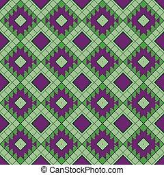 Geometrical seamless pattern in the Belarusian style.