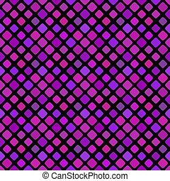 Geometrical violet abstract diagonal square pattern background design