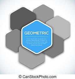 geometrický, abstraktní, grafické pozadí.