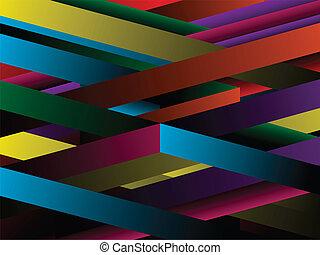 geometrický, abstraktní, grafické pozadí