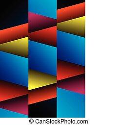 geometrico, astratto, fondo