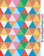 geometrico, colorito, fondo