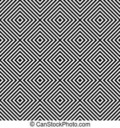 geometrico, controllato, seamless, struttura